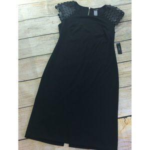 BISOU BISOU Womens Sheath Sequence Dress Size 6